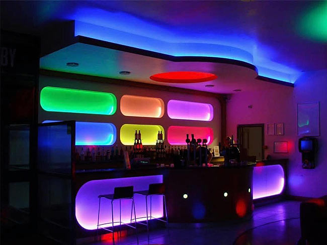 Colour Changing LED Lighting