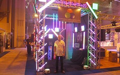 Concept LED Lights Have A Great Time At PRO
